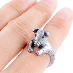 Cute Pig Adjustable Ring - GenieMania