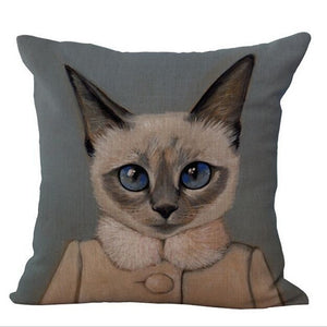 CAT SERIES DECOR PILLOW COVERS - GenieMania