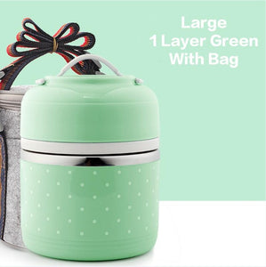 Compartment Lunch Box & Bag