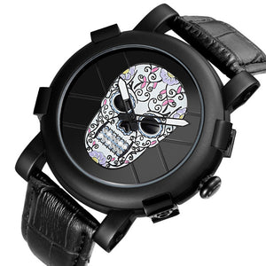 Skull Quartz Watch