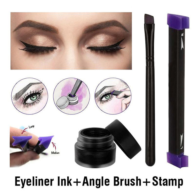[ Limited Edition ] Eyeliner Wing Stamp Set