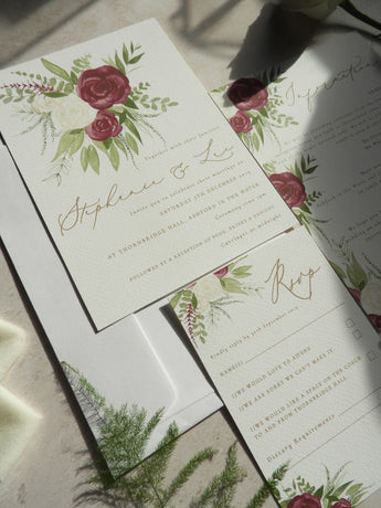 The 3 essential items you need in your wedding invitations