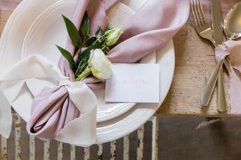 4 stationery items you need for your wedding breakfast