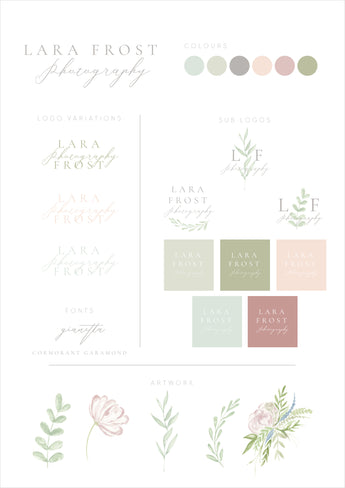 Logo & Branding for Lara Frost Photography