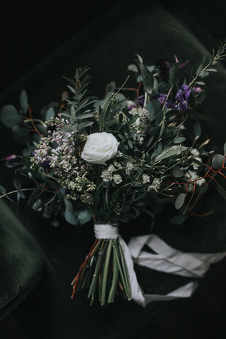 coco in the country wedding bouquet