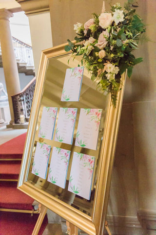 Mirror table plan