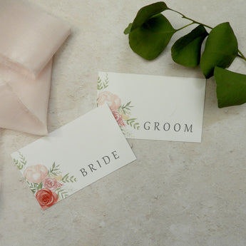 Coral Story Place Cards