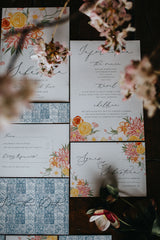 Las Bodas Information Card A5