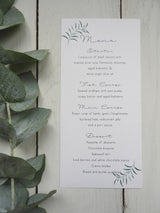 Olive Twigs Menu