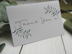 Olive Twigs Thank You Card
