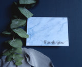 Marble Watercolour Thank You Card