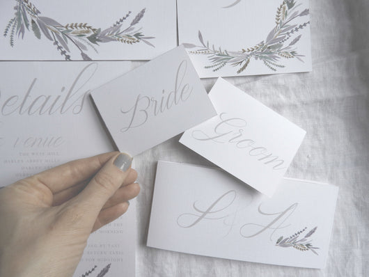 The Whole Wedding Stationery Package
