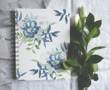 Watercolour floral notebook - Nottingham Stationery & Gifts