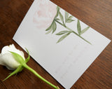 Pink Rose Garden A6 'Will You Be My Maid of Honour?' Card