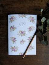Pack of 2 Floral Watercolour Printed Notebooks