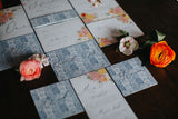 Las Bodas Invitation Bundle - Invitation, Information Card, RSVP, Belly Band and C5 Envelope