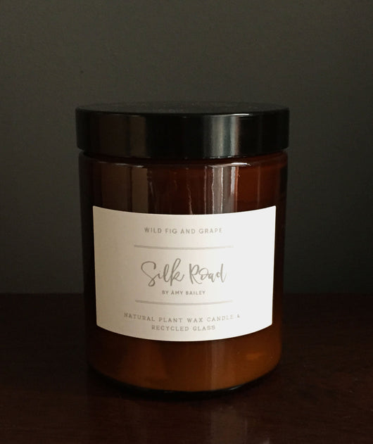 Luxury Pharmacy Pot Candle - Wild Fig & Grape 180ml