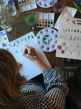 Floral & Botanical Watercolour Workshop at The Botanist, West Bridgeford - 7th July 2019 {SOLD OUT}
