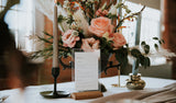 Industrial Opulence Wedding Menu