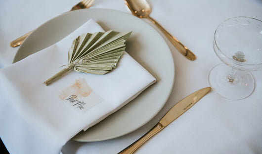 Industrial Opulence Vellum Place Cards