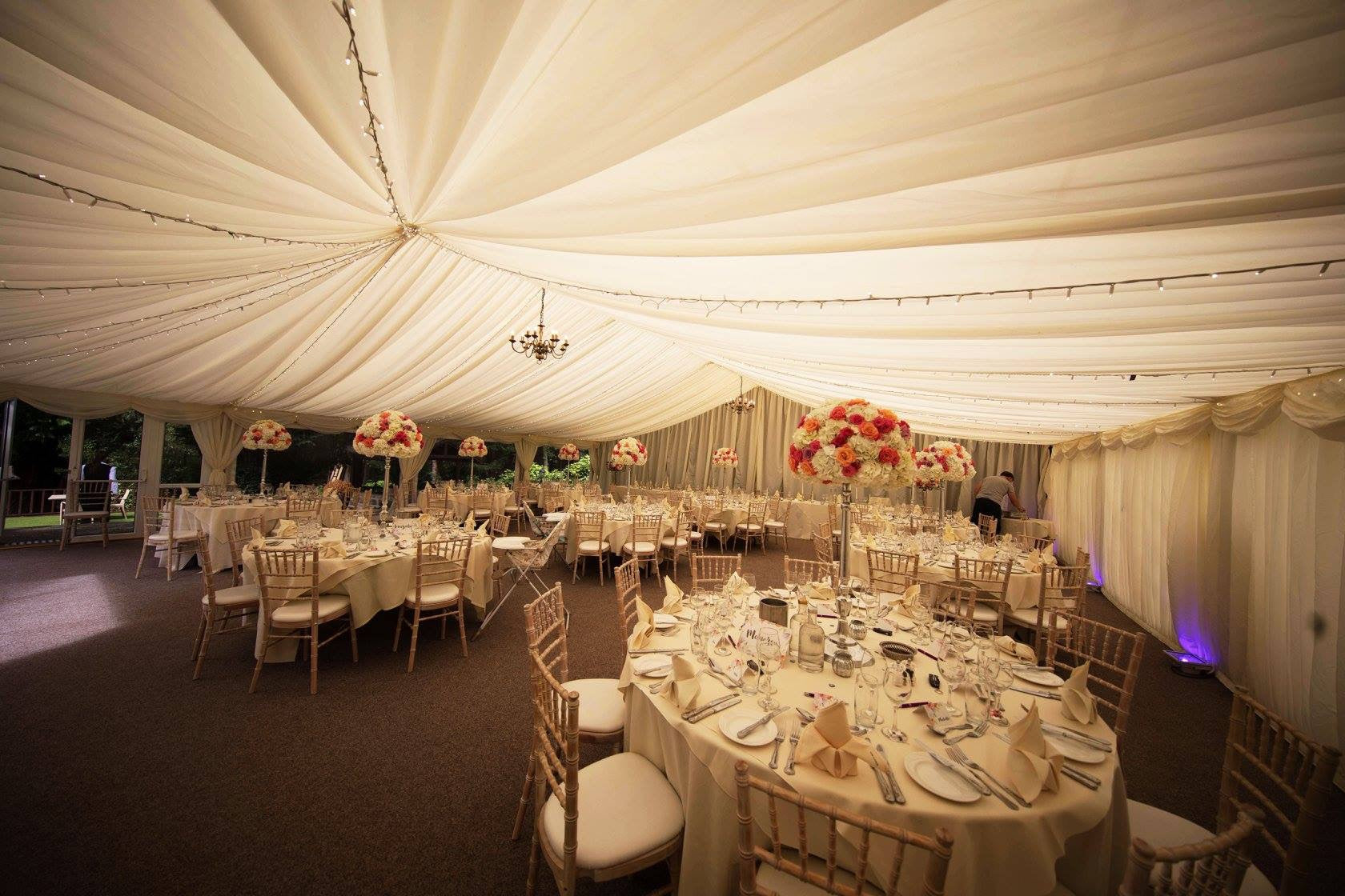 Wedding Breakfast Marquee