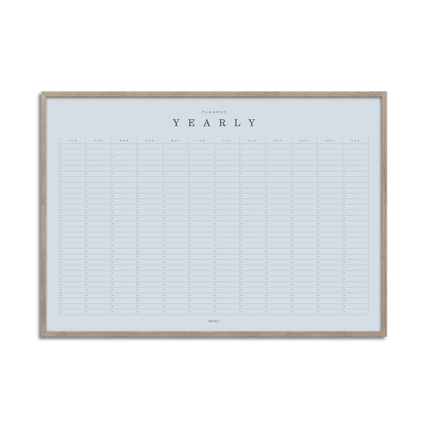 Yearly Planner - Basic