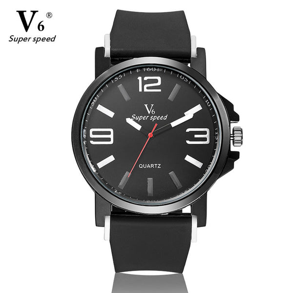 The V6 Sports Watch (White face)