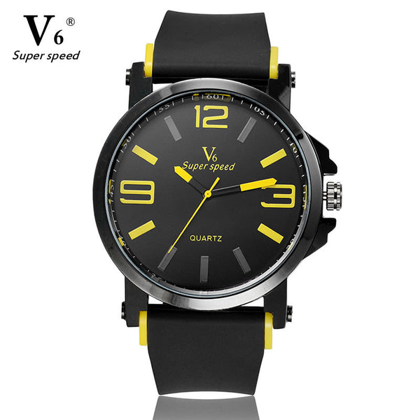 The V6 Sports Watch (Yellow)