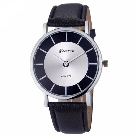 Ladies Classic Leather Watch