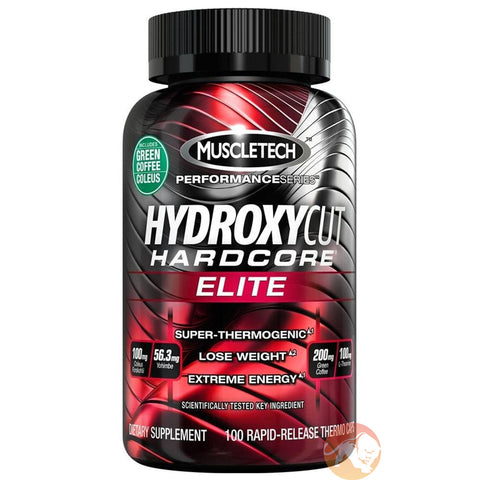 MT Hydroxycut Elite Hardcore Fat Burner 100caps