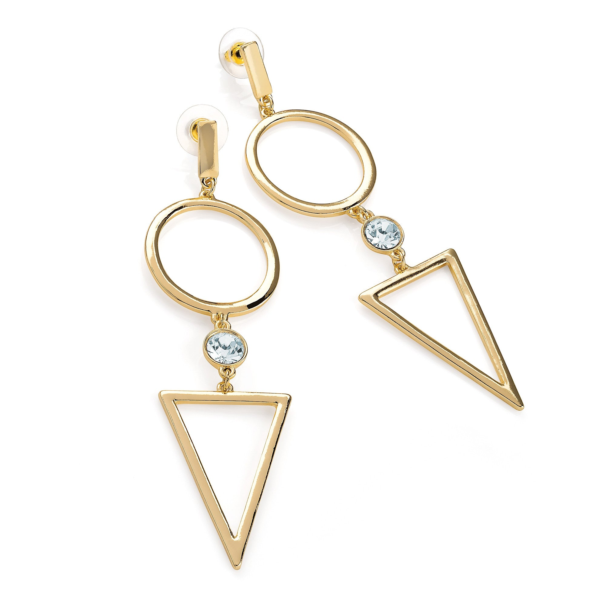 tara s type post collection hexagon couture earrings