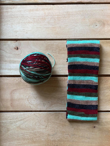 Run Upstairs! - Self-Striping Yarn