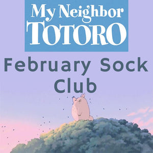 Monthly Sock Club - February