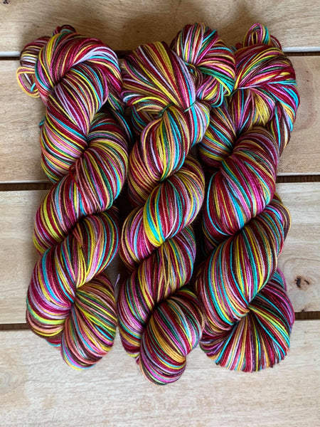 Ready to Ship - Catradora - Self-Striping Yarn
