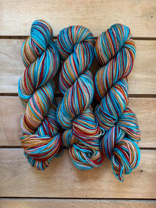 Ready to Ship - Lost in Paradise - Self-Striping Yarn
