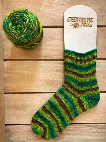 Cuddly as a Cactus - Self Striping Yarn