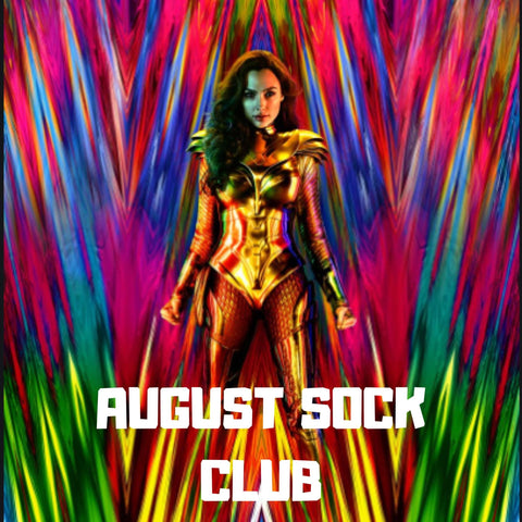Monthly Sock Club - August