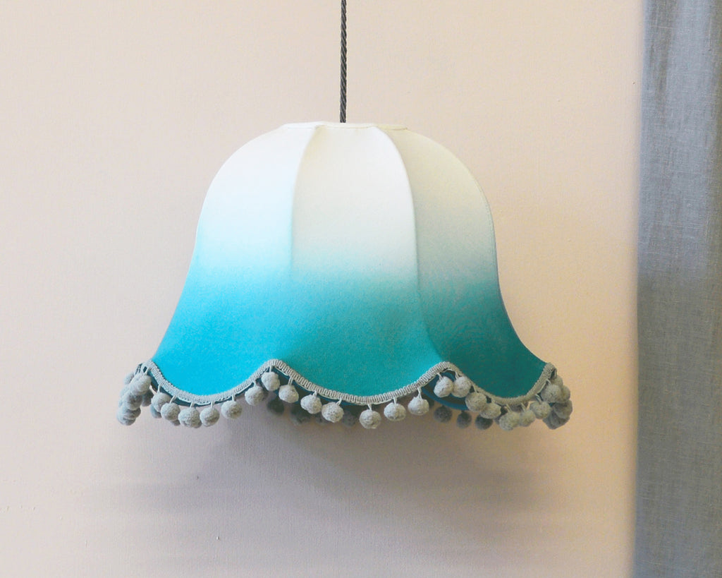 Ombre Dip Dyed Traditional Lamp Shades