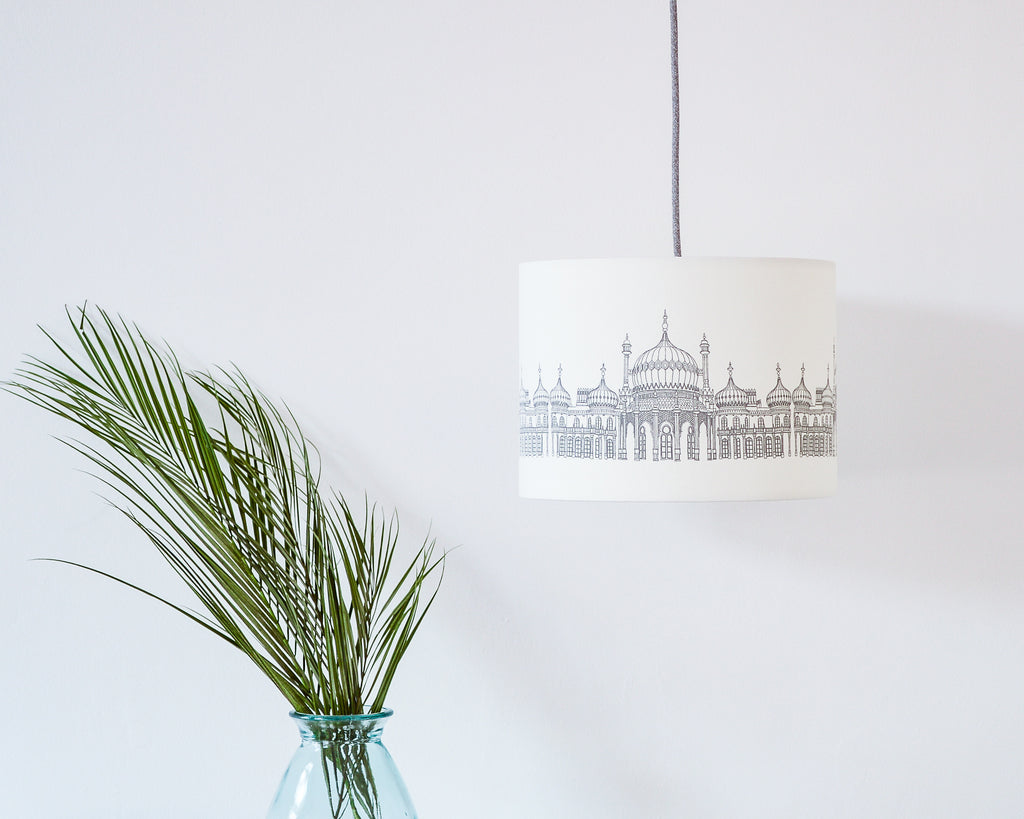 Brighton Pavilion Drum Ceiling Lampshade