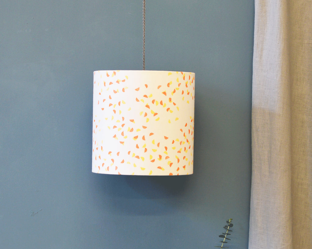 Orange Yellow Ceiling Lamp