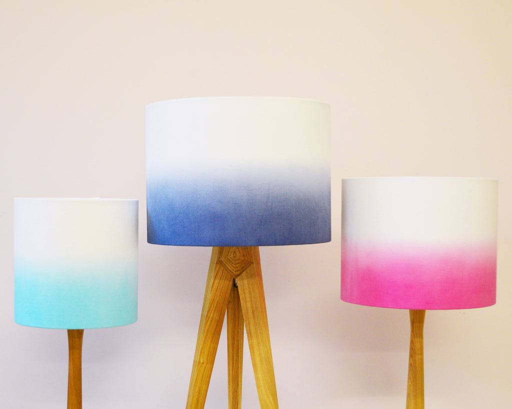 Ombre Drum Lamp Shades