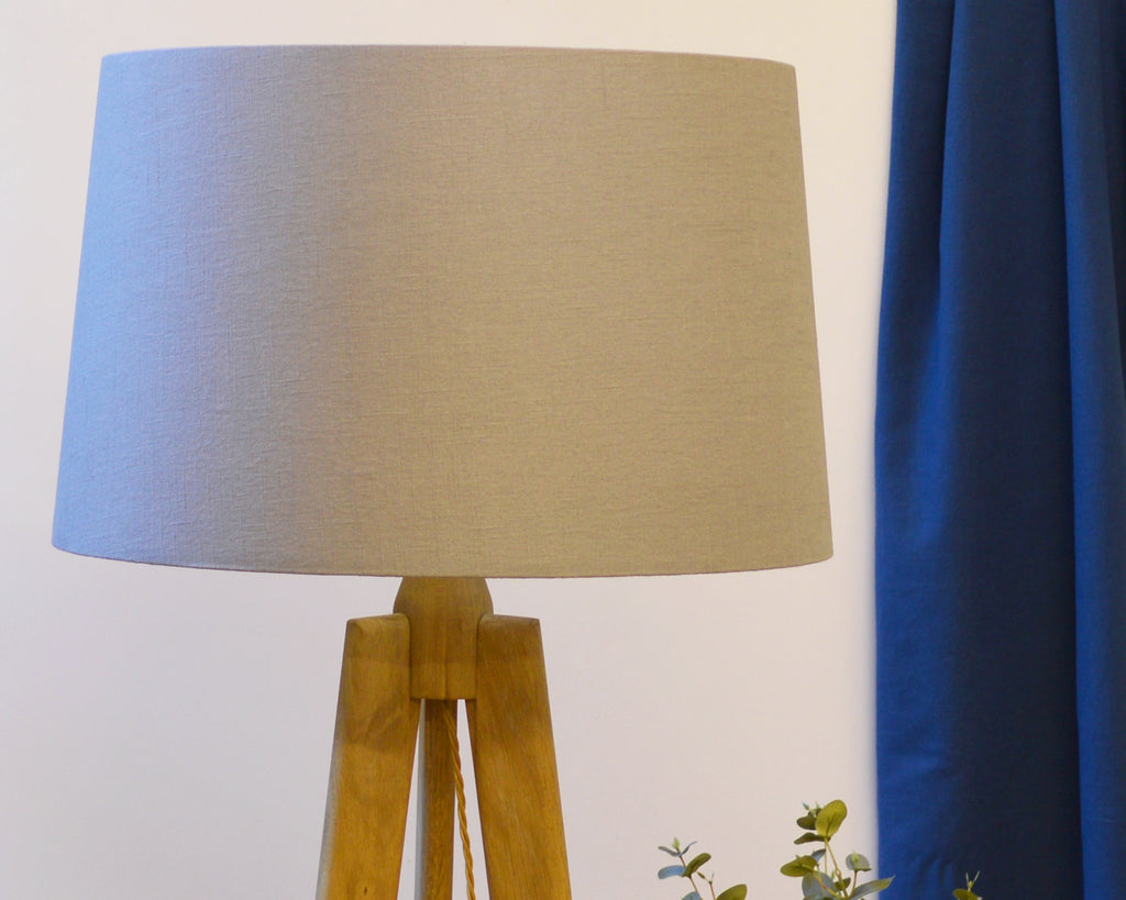 Grey Tapered Table Lamp