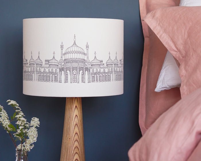 Brighton Pavilion Drum Table Lampshade