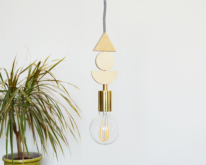 Ply Wooden Pendant Light
