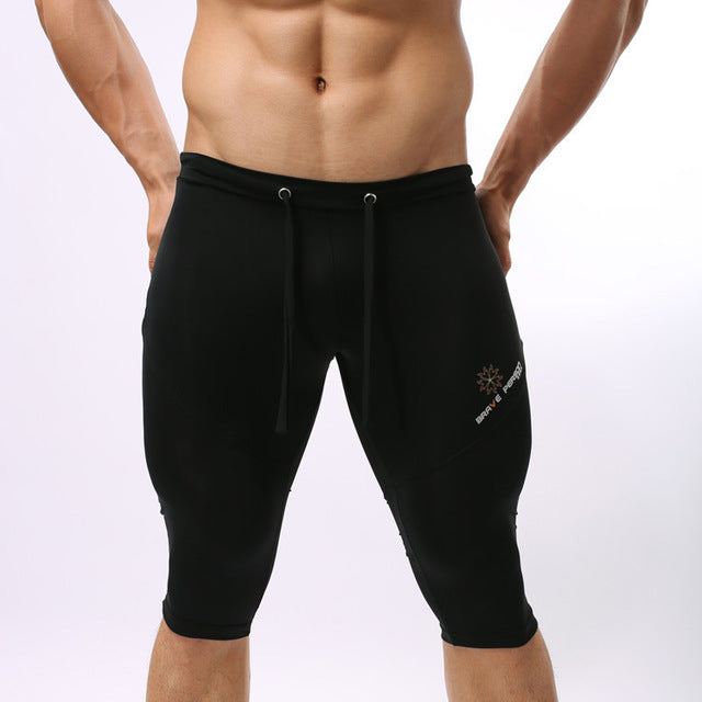 Men's Compression Runing Bottoms