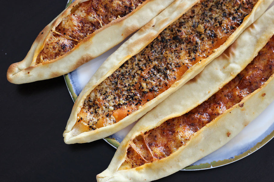 Cheese and Pepper Pide