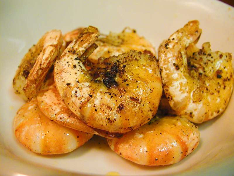 Urfa Garlic Shrimp