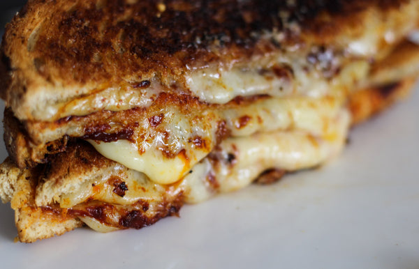 photographer Jess Hitt, grilled cheese