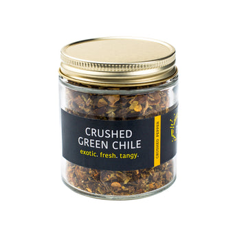 Crushed Green Chile | Exotic. Fresh. Tangy.