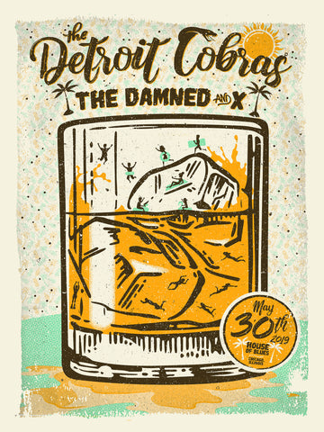 Detroit Cobras with The Damned and X